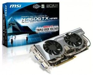 MSI GeForce GTX 460 1GB Hawk