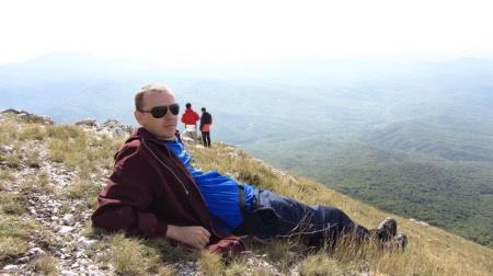 Лежу на Эклизи-Бурун