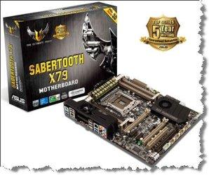 ASUS SABERTOOTH X79 на оверклокерском чипсете Intel X79Express