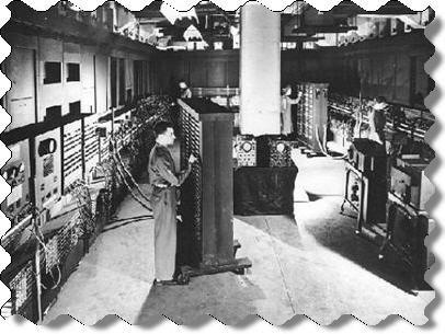 Самый первый Американский компьютер Эниак