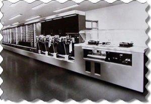 Самый первый программируемый компьютер в мире Марк-1