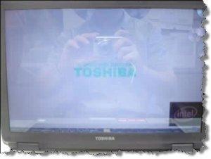 Инверсия цветов на экране ноутбука