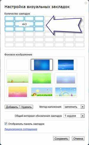 Настройка закладок Яндекса в google chrome