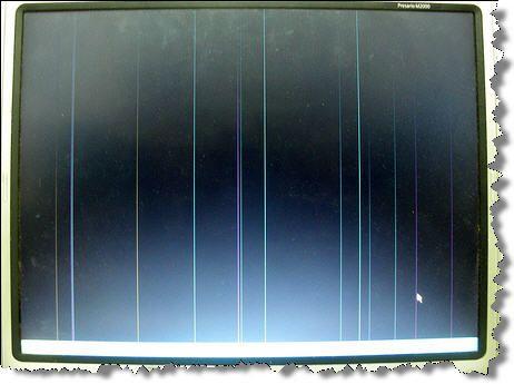 Полосы на экране ноутбука - неприятная неожиданность