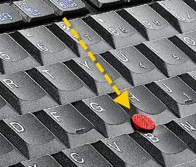 Трекболл в ноутбуке Lenovo ThinkPad