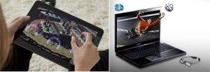 Игры на ноутбуках и планшетах