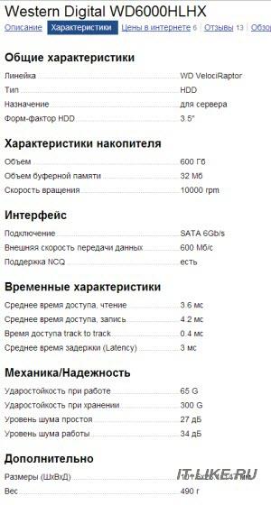 Выбираем жёсткий диск по параметрам на Яндекс.Маркет