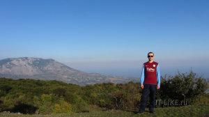 Гора Демерджи с высоты