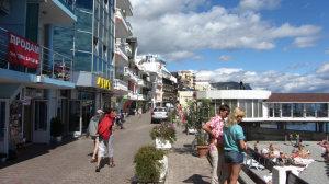 Набережная Санта-Барбары в Крыму