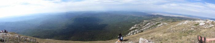 Панорамный вид с Эклизи-Бурун