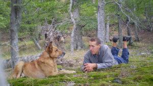 Собака Рыжик и Саша Малиновский