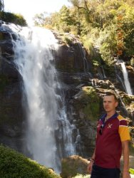 Водопад на севере Тайланда