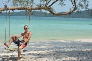 Качелька на острове Ко-Ронг Самлоем