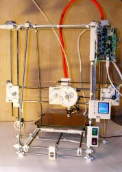 Самодельный 3D принтер дома