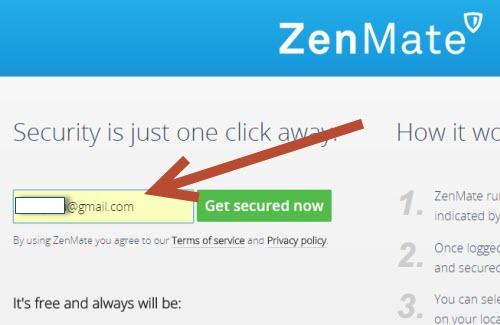 Регистрация email