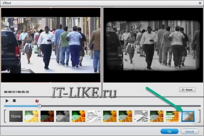 Накладываем эффекты на видео