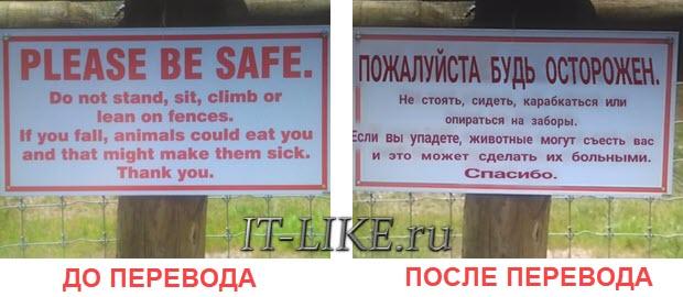 фотография до и после перевода