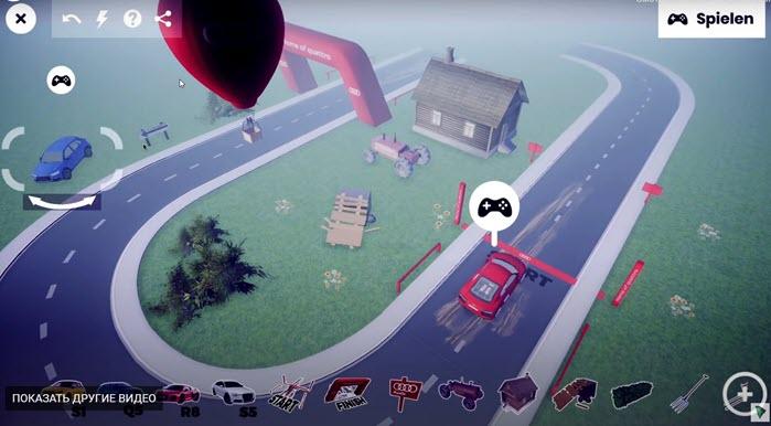 конструктор 3d игры
